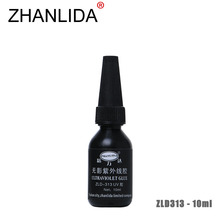 ZHANLIDA 313 10ML Ultraviolet UV Glue Acrylic Plastic Crafts Shadowless Transparent Glue Multi Purpose Adhesive