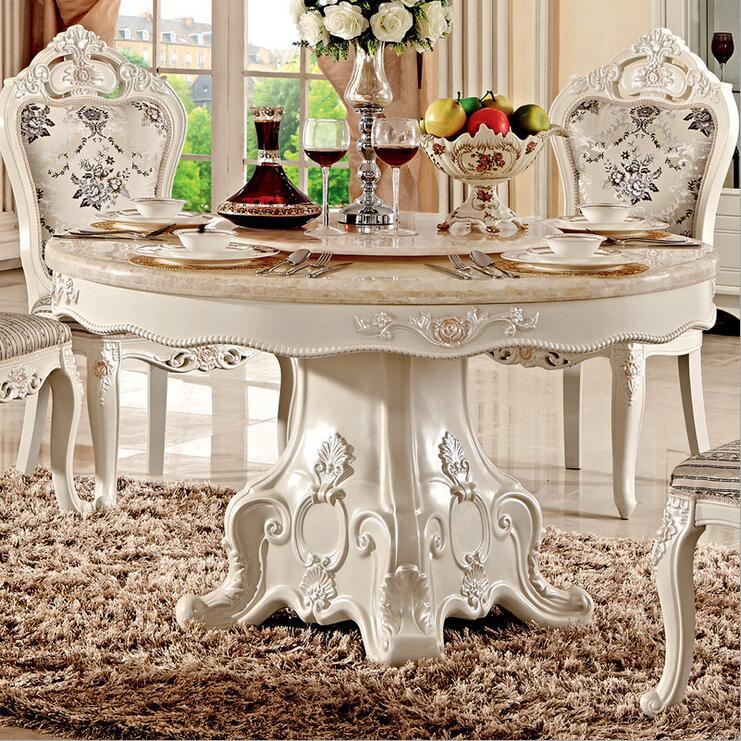 € 899.84 |Table à manger italienne de Style moderne, ensemble de Table à  manger de luxe en bois massif italie 100% pfy10021-in Ensembles salle à ...