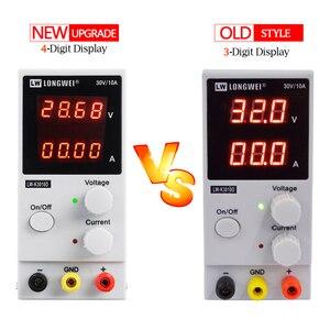 Image 2 - LW K3010D yeni yükseltme 4 haneli ekran ayarlanabilir DC güç kaynağı 30V 10A voltaj regülatörü tamir tamir laboratuvar güç kaynağı