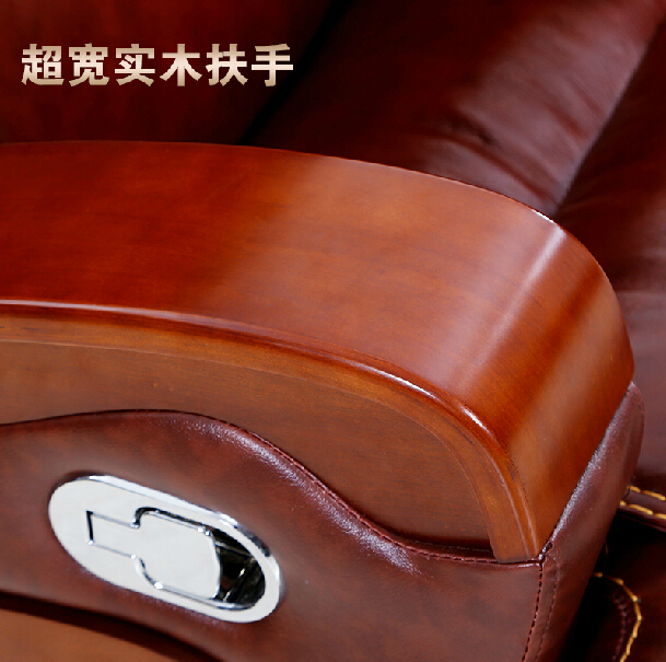 Купить с кэшбэком Domestic high-grade leather boss chair chair massage can lay computer chair leather of large chair, chair