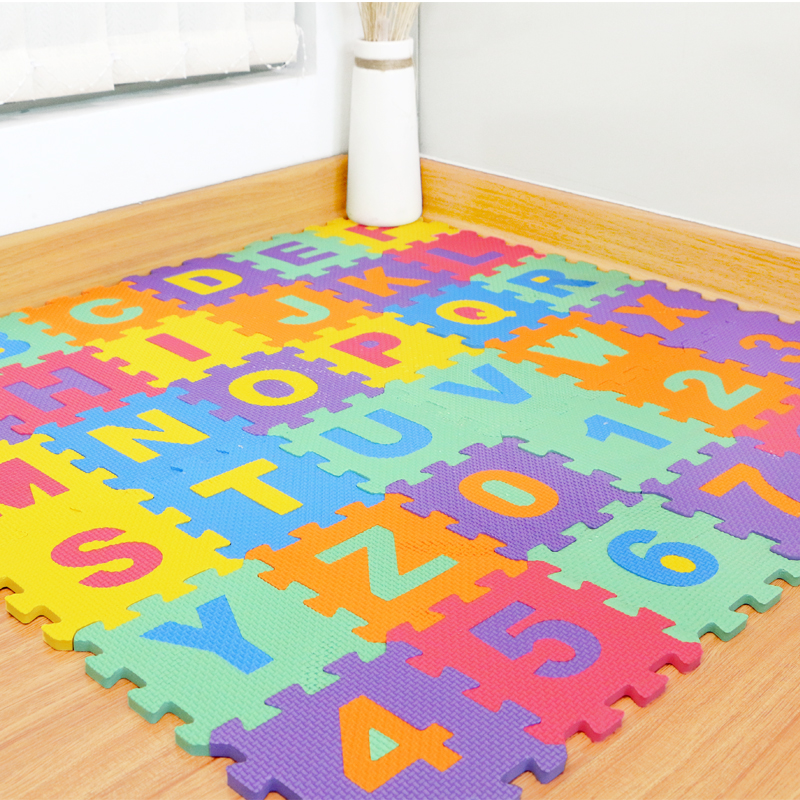 36PCS DIY Puzzle Play Mat Baby EVA Foam Children Soft Developing Floor Pad Crawling Rugs Carpet Playmat Baby Toys Games Tapete ...