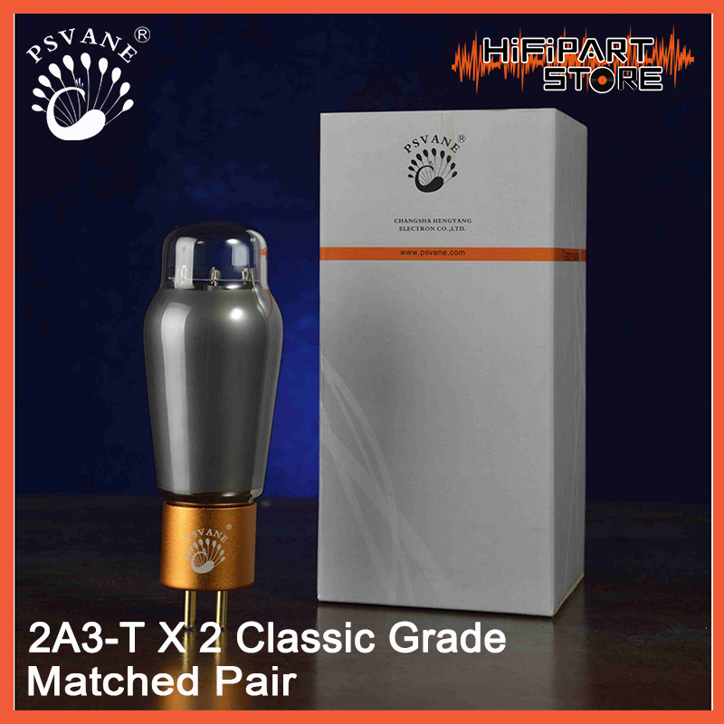 2pcs PSVANE 2A3 T MKII Classic Grade Valve Matched Pair Tube amplifier accessories Repalce Shuguang EH