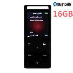 2018 New Arrival Touch Button Bluetooth MP4 Player 16GB 1.8 Inch Screen Sports Player High Quality Lossless Music Player with FM