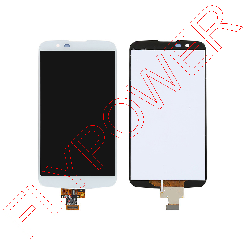 ФОТО touch screen digitizer LCD display For LG K10 LTE K420N K430 K430ds full Assembly replacement parts