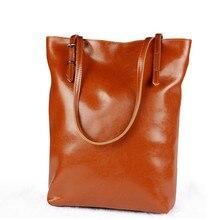 Luxus Echtem Leder Frauen Umhängetasche Mode Marke Designer Rindsleder echtleder frauen Messenger bags Damen Eimer handtasche
