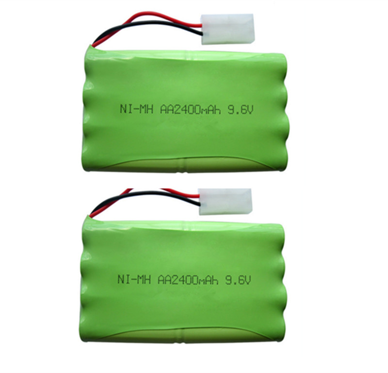 2PCS 9.6V 2400mAh Remote Control toy electric lighting lighting security facilities AA battery Ni-MH battery group