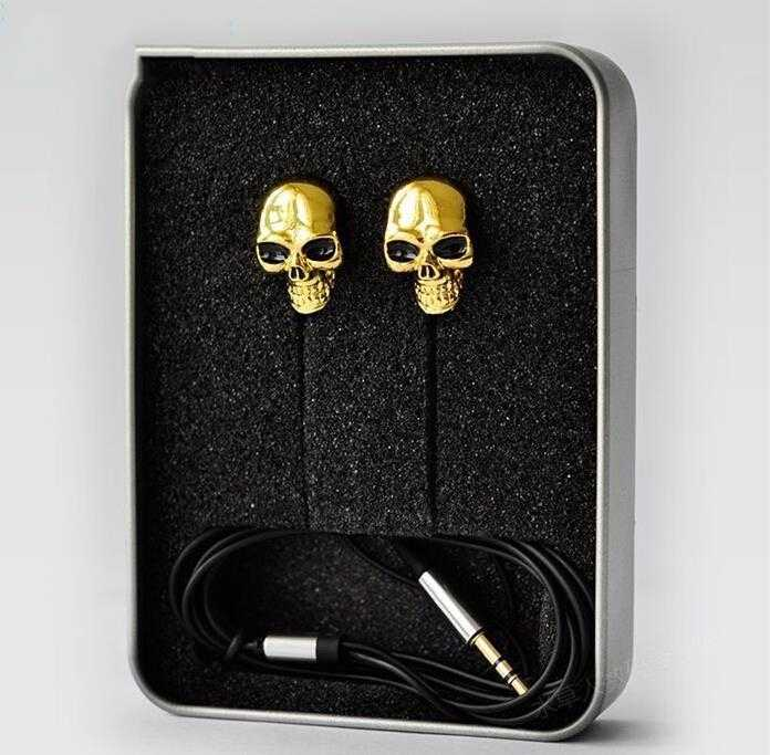 12c80d96348 High Quality Colorful Skull 3.5MM In-ear Skull Earphone Earbuds For MP3/MP4