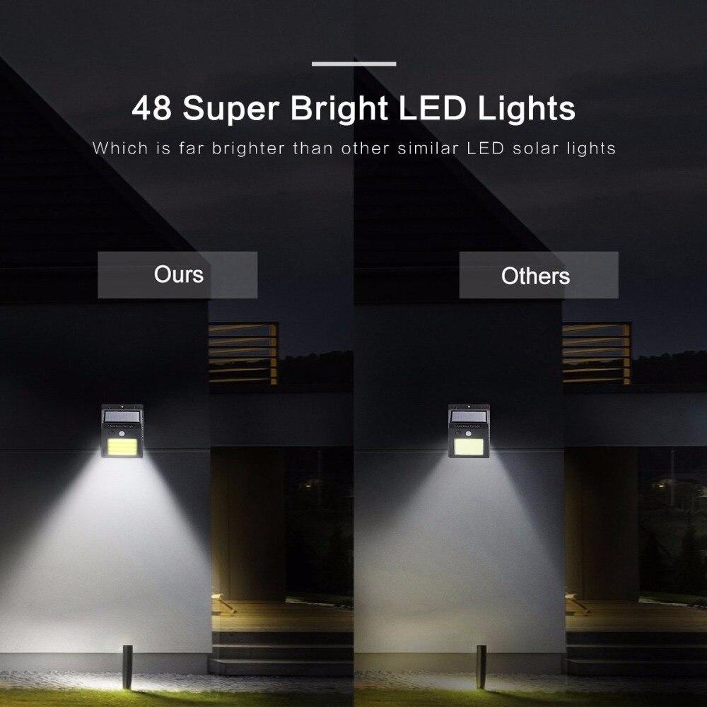 diodo emissor de luz solar luzes sensor 02
