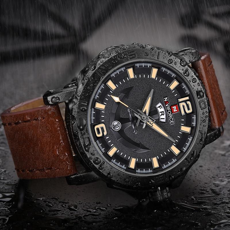 NAVIFORCE Men s Fashion Business Quartz Wristwatches Creative Sports Watches Men Luxury Brand Watch Clock Male Innrech Market.com