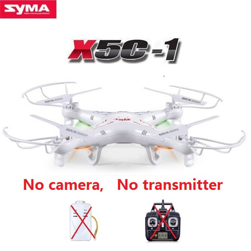 100% Original Single SYMA X5C RC Drone Stand-Alone 2.4G 4CH 6-Axis RC Quadcopter Dron Without Camera and Remote Control