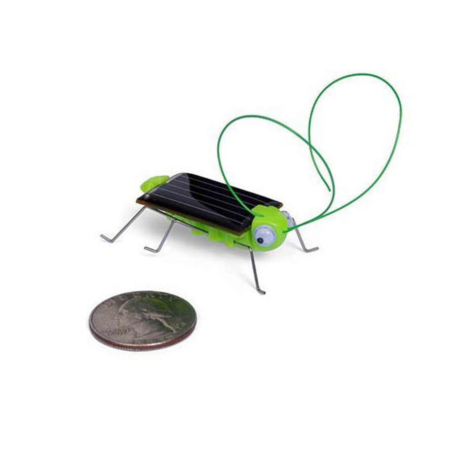 Funny Grasshopper Model Solar Toy Children Outside Toy Kids Early Educational Toy Gifts Novelty Gag Toys