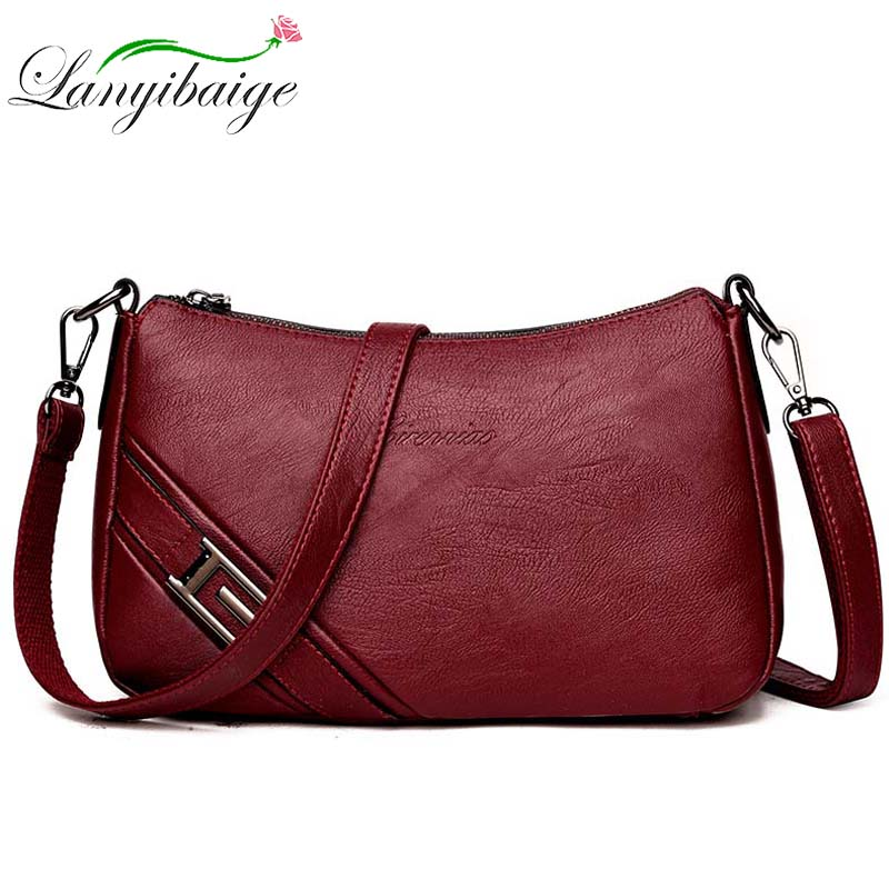 Sac A Main Bolsa Feminina 2019 Crossbody Bags For Women Messenger Bag Designer Handbags High Quality Female Leather Shoulder Bag
