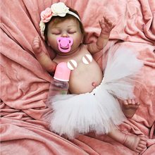Exquisite hand painting body Silicone Reborn Baby Dolls Lifelike Bebe reborn menina 50 cm Kid bath Toy new Realistic Dolls gift new christmas style full silicone vinyl reborn dolls babies 23 57 cm realistic lifelike bebe dolls menina boneca brinquedos
