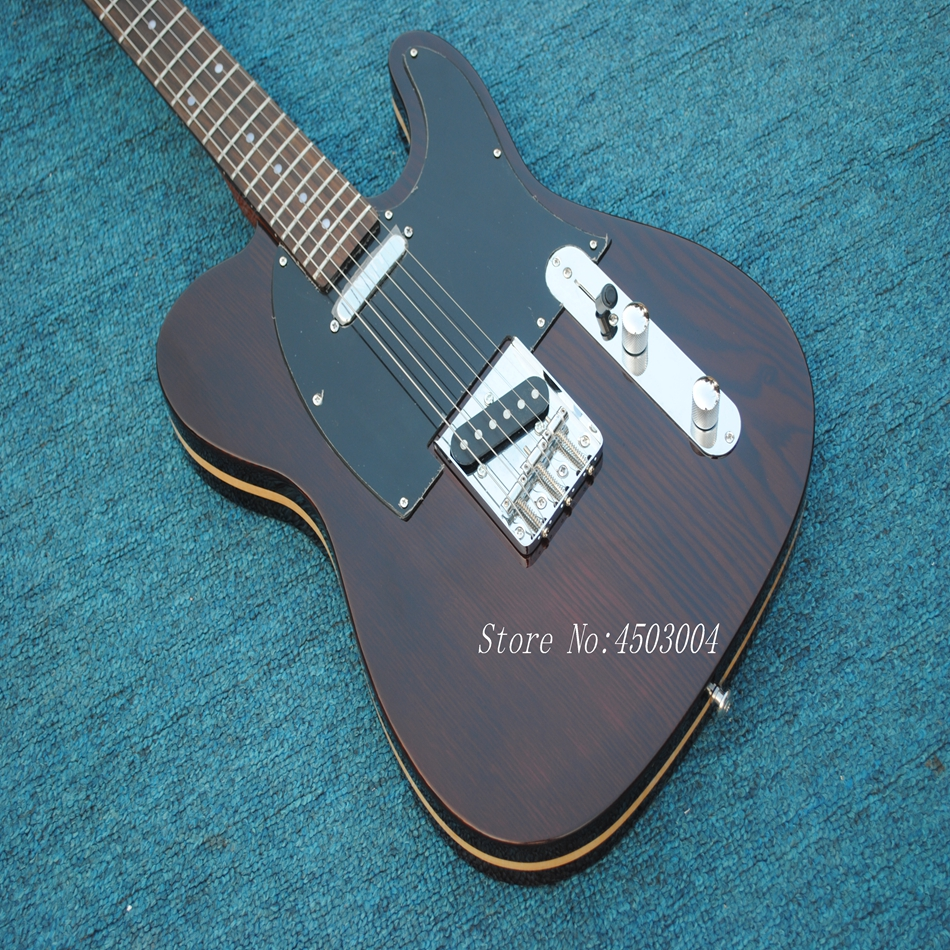 China OEM shop guitar Hot selling high quality beautiful TL Electric Guitar Body of three layers, maple sandwich p image