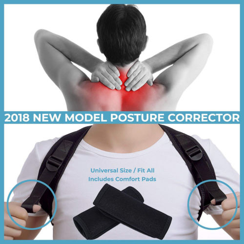 Posture Corrector Back Support Belt Shoulder Bandage Corset Back Orthopedic Spine Posture Corrector Back Pain Relief 15