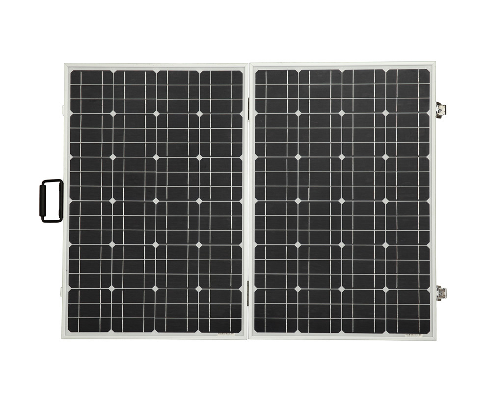 UK stock 120W Foldable Solar Panel Ideal for Caravan Includes Regulator complete kit