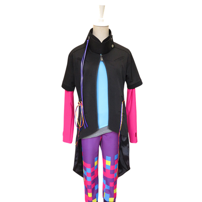 Kamen Rider Ex-Aide Genm Pallad L'uem Hojo Parado Patient Zéro Outfit Cosplay Costume F008