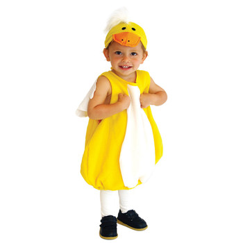Kids Toddler Infant Lovely Yellow Duck Ducky Costume Cosplay for Baby Girls Boys Halloween Purim New Year Carnival Party Outfit infant toddlers baby boys girls raccoon cosplay costume for halloween christmas purim holiday dress up party