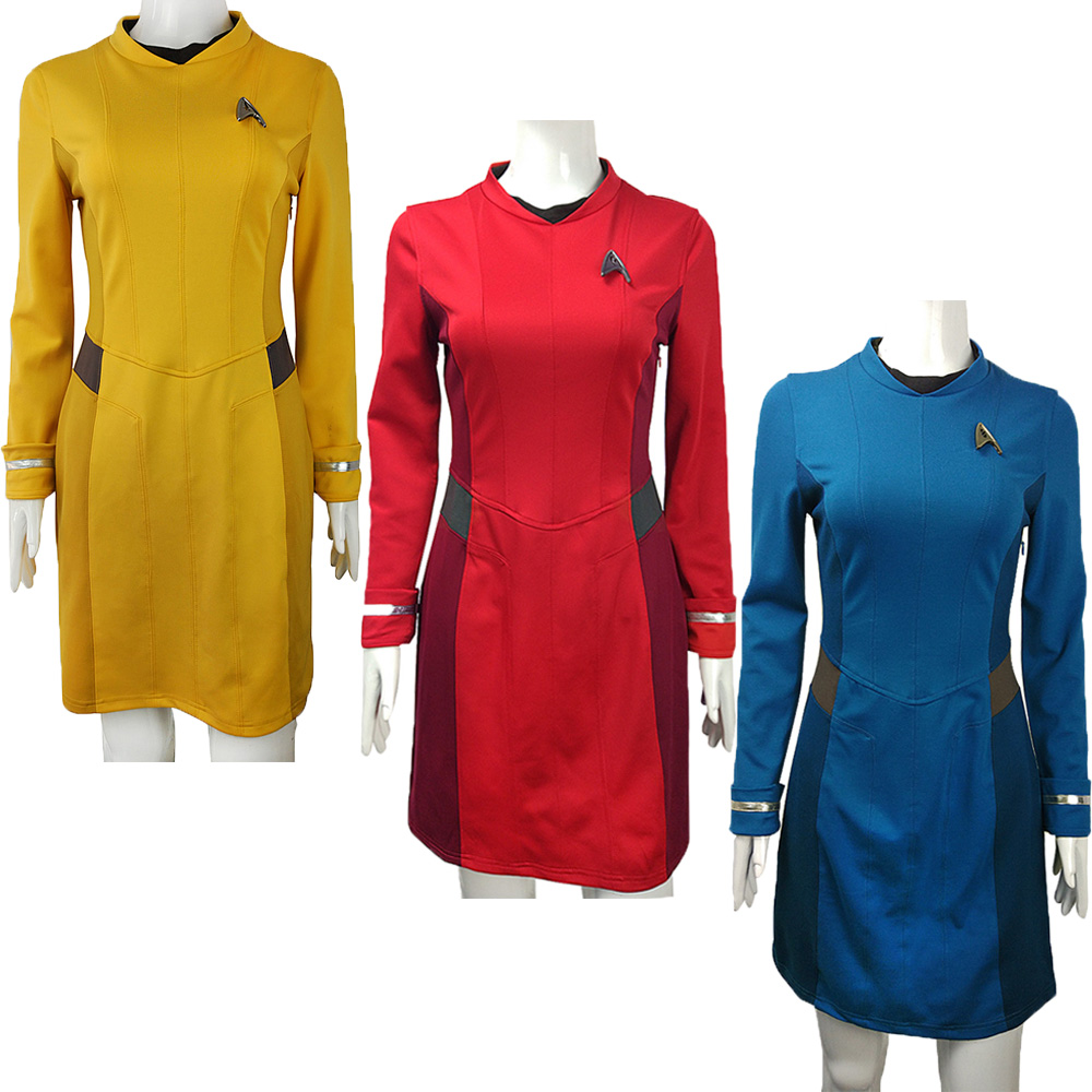 New 2016 Star Trek Costume With Badge Cosplay Star Trek -4050