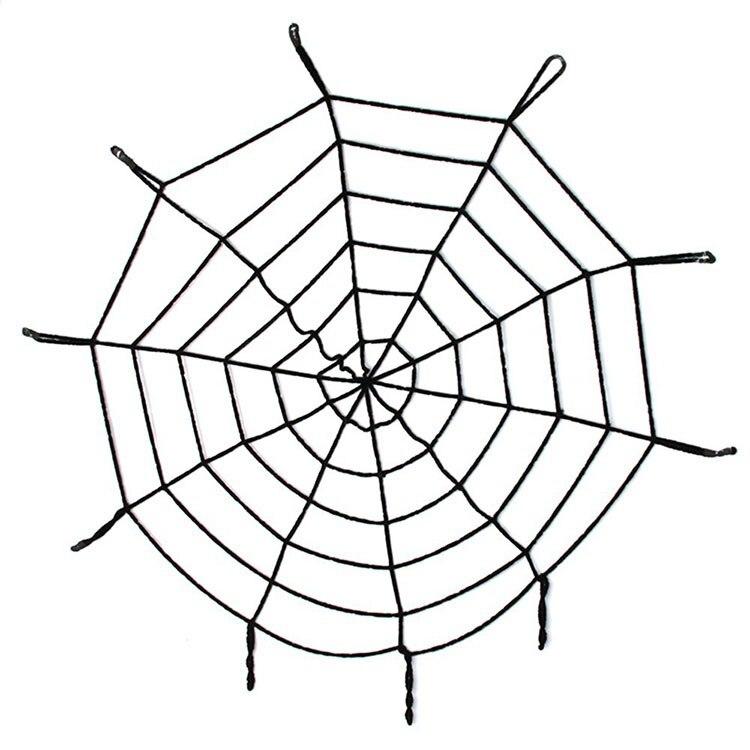 Hot Sale Halloween Scene Layout Cobwebs Wool Lines Halloween