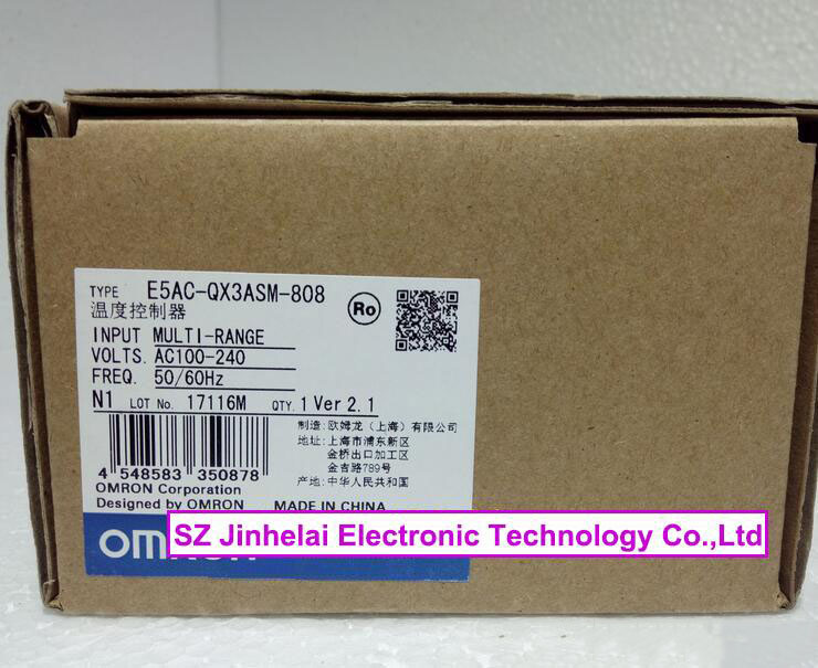 100% Authentic original E5AC-QX3ASM-808, E5AC-RX3ASM-808 OMRON Digital controller AC100-240V стоимость