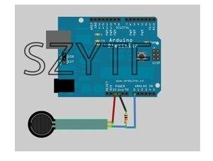 Image 5 - 5 uds FSR402 Resistor sensible a la fuerza 0,5 pulgadas FSR US Original