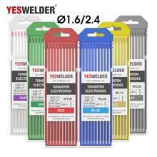 Yesseller 10-pk TIG сварочный вольфрамовый электрод WP/WT20/WC20/WL15/WL20/WX