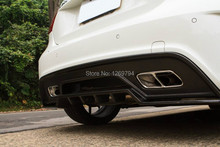 Carbon Fiber Rear Diffuser Lip Spoiler  Designed For A Class W176 A45  A250 A260 Of The RZ Style