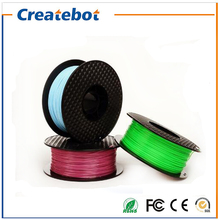 3d printer filament high quality PLA 1.75mm/3mm 1kg/spool Full Color Optional for Createbot/MakerBot/RepRap/kossel