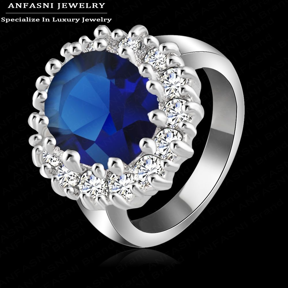 Luxury British Kate Princess Diana William Engagement Ring