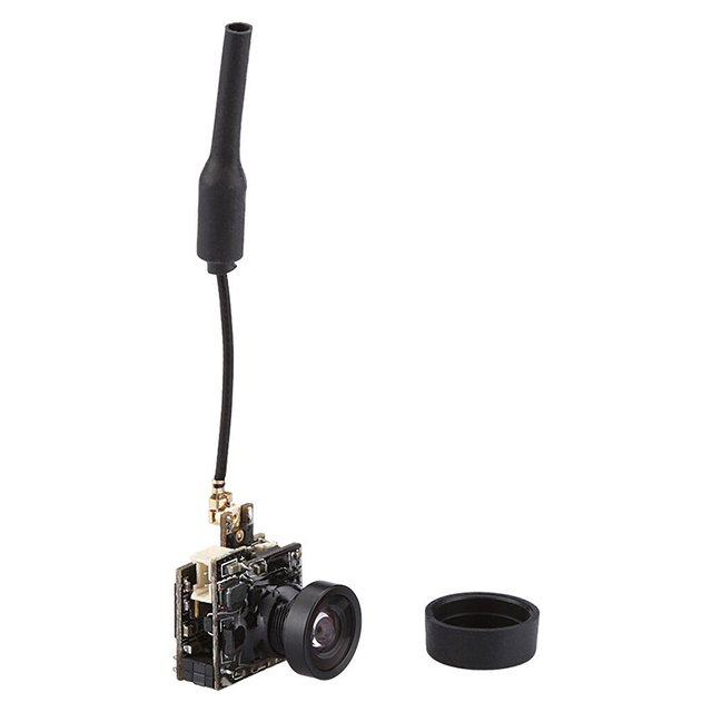 Micro Camera Transmitter Portable Small Spy Camera 5.8G 25MW 800TVL FPV LST S2