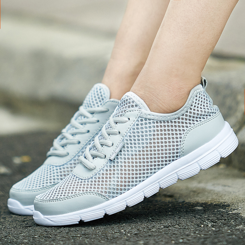 HTB1 8UAacfrK1RjSszcq6xGGFXan Sneakers Men 2019 Air Mesh Breathable Lace Up Solid Men Trainers Shoes Hot Sale Outdoor Walking Casual Shoes for Men