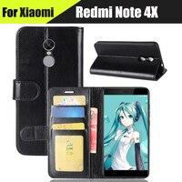 EiiMoo Phone Case For Xiaomi Redmi Note 4X 5 5 Funda Wallet Leather Flip Case Cover