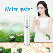 New Hydrating Spray Toner Serum Instrument Steaming Face Beauty Cold Portable Water Meter