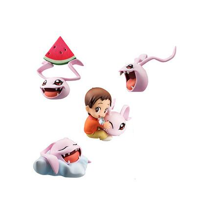New Arrival 4 pcs. / Lot 5cm PVC Japanese Anime drawing Digital Monster / digimons figure collectible toy model brinquedos(China)