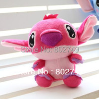 Plush Doll Stitch 5 Sizes To Choose Christmas Gift Cute Toy Pink And Blue
