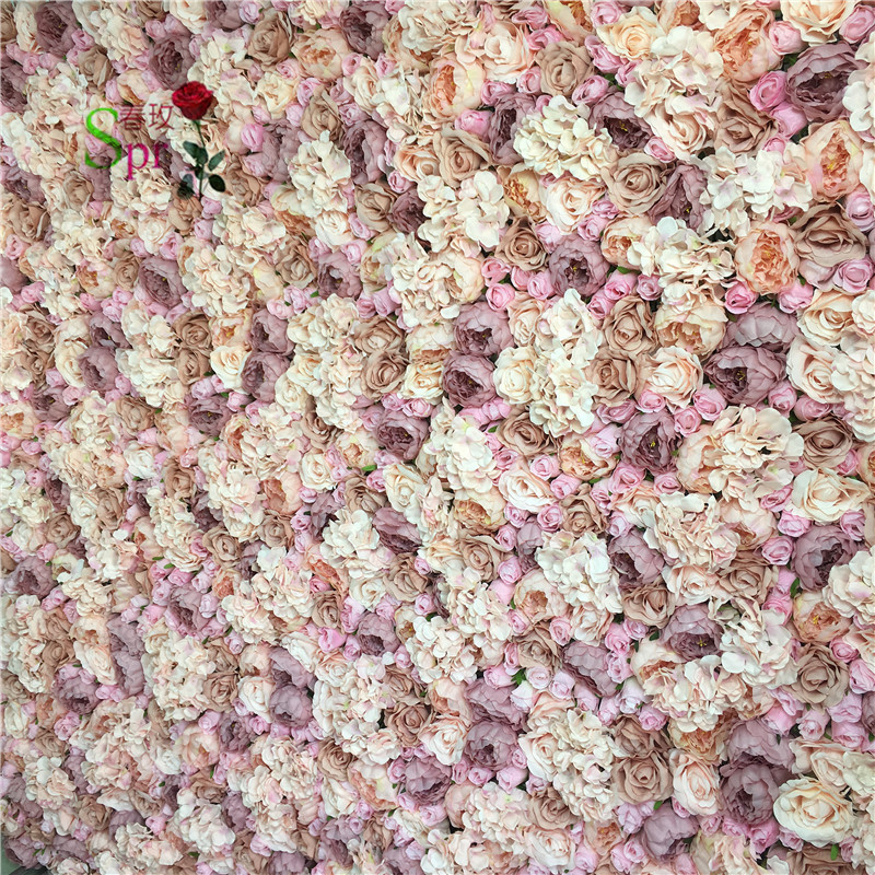 SPR Free Shipping High quality 10pcs lot wedding decoration Artificial flower wedding backdrop flower wall table