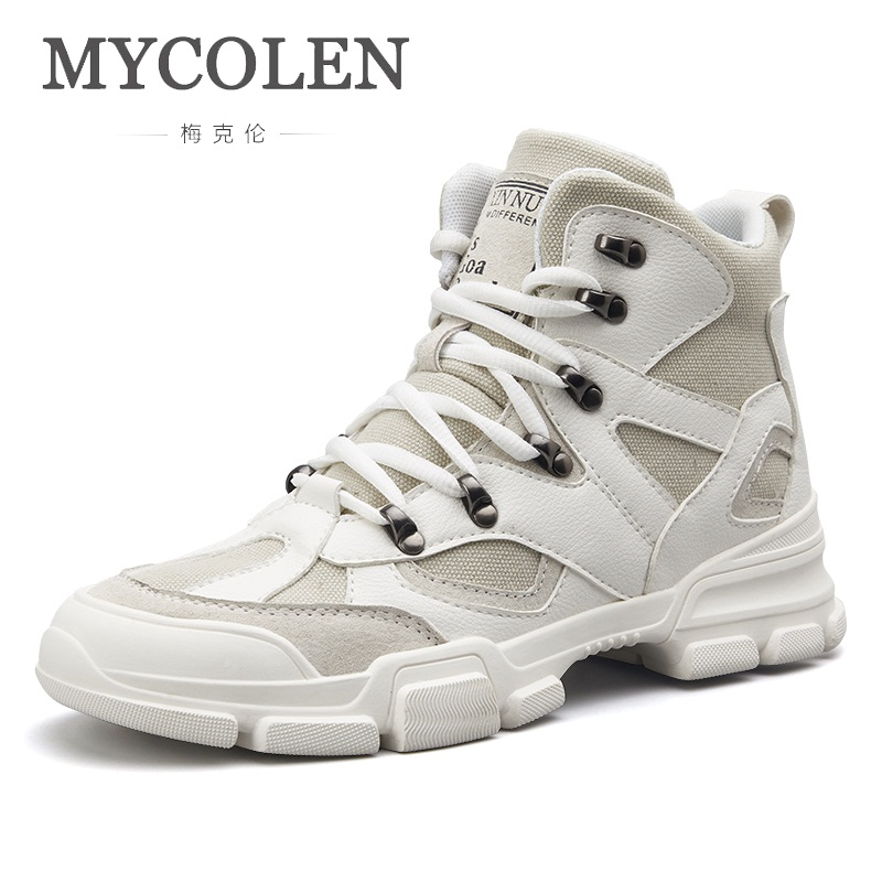 MYCOLEN Luxury Brand Top Fashion Casual Shoes Men Shoes High Top Sneakers Men 2018 Men Fashion Shoes Scarpe Uomo Casual женские кеды golden goose shoes 2015 ggdb uomo scarpe scollate
