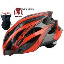 Actualiza Modelo LUNA Ciclismo Casco Ultraligero Bicicleta Casco In-mold Camino de MTB Mountain Bike Helmet Casco Ciclismo