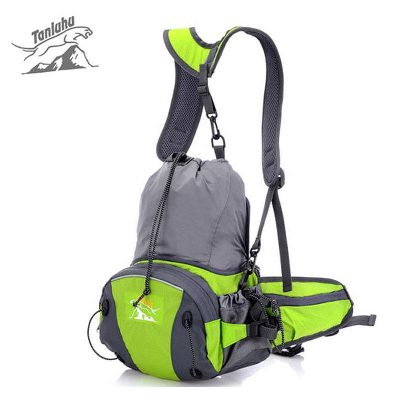 TANLUHU Multifunction Outdoor Sports Folding Backpack Women