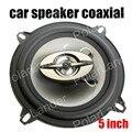 2 UNIDS x 5 Pulgadas Coche Altavoces Coaxiales de Audio Estéreo Altavoz de agudos para todos los coches max power music 180 W de la venta caliente