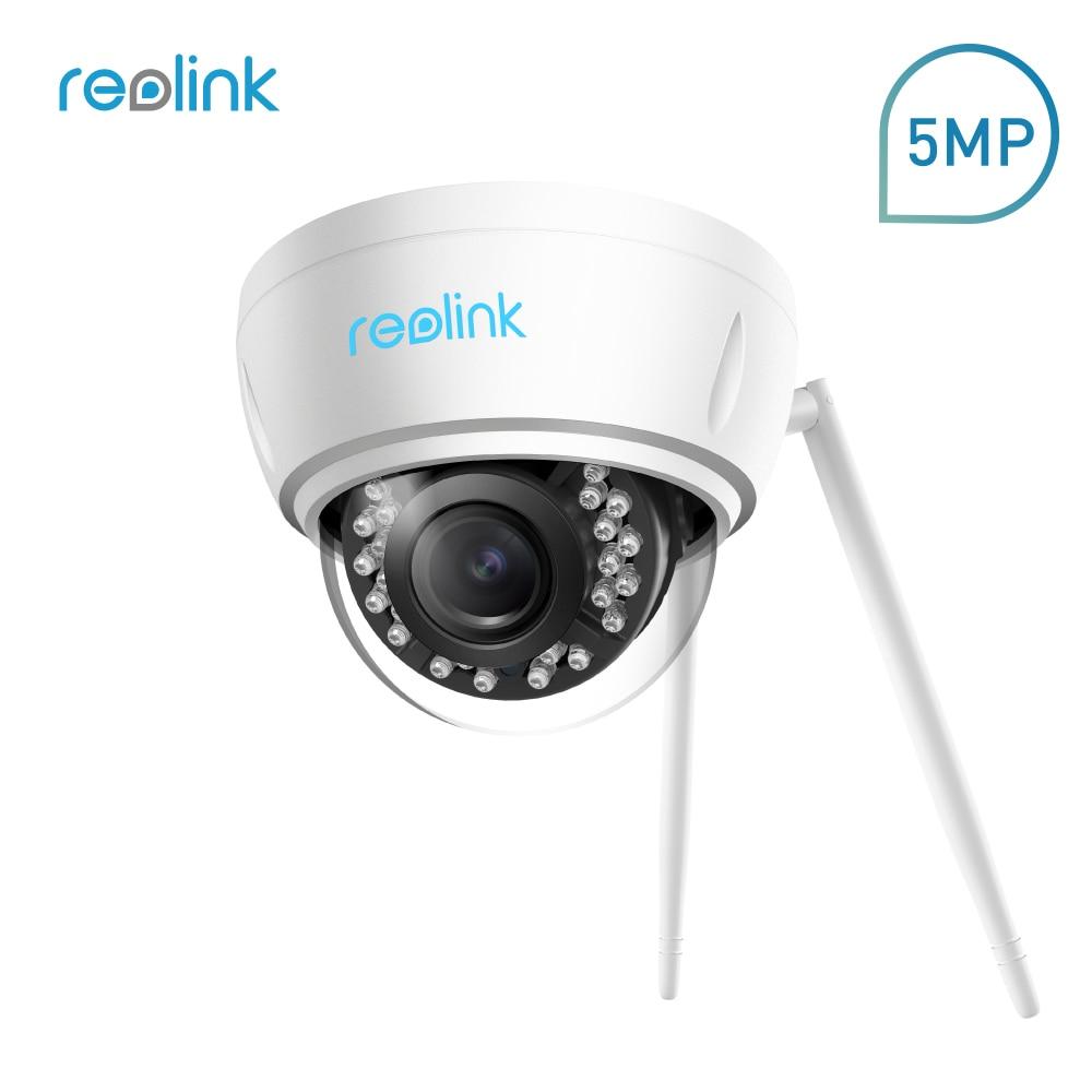Reolink IP Камера 5MP Wi-Fi 2,4 г/5 г 4x Оптический зум Беспроводной Безопасности Cam со встроенным Micro SD карты слот RLC-422W