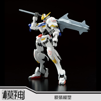 Free shipping Brand bandai Gundam HG 1/144 Barbatos ASW-G-08 Assemble Collection Action Figure with Sword Fighting Robot Toys new arrive 1 pc japanese black metal alloy heavy blade sword accessorie for 1 144 hg rg mg unicorn gundam action figure toy