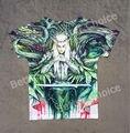 Pista Ship + Retro Vintage Buena Sensación T-shirt Top Película El Hobbit Anillo de el Señor de los Anillos Elf Rey príncipe 0848