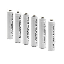 6/8/10PCS  Ni-MH 1.2V AAA Rechargeable 2600mAh 3A Neutral Battery Rechargeable battery ,Free shipping купить дешево онлайн
