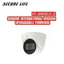 Английская версия с логотипом IPC-HDW5831R-ZE 8MP WDR 50 М камера видеонаблюдения IR сети ip cctv безопасности Камера Встроенный микрофон POE H.265