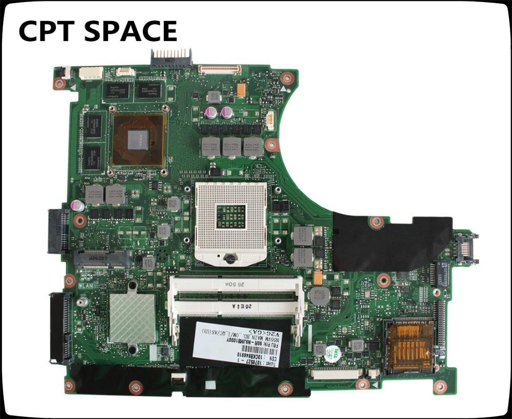 YTAI N56VM REV2.3 mainboard For Asus N56V N56VJ N56VZ N56VM Laptop Motherboard GT635M GT630M 2G REV2.3 HM76 DDR3 mainboard Test n56vm rev 2 3 laptop motherboard suitable for asus n56vm n56vj n56vz gt630m hm76 system motherboard original new