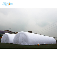 Inflatable Biggors Outdoor Giant Waterproof Inflatable Tent With LED Light Toy Tent
