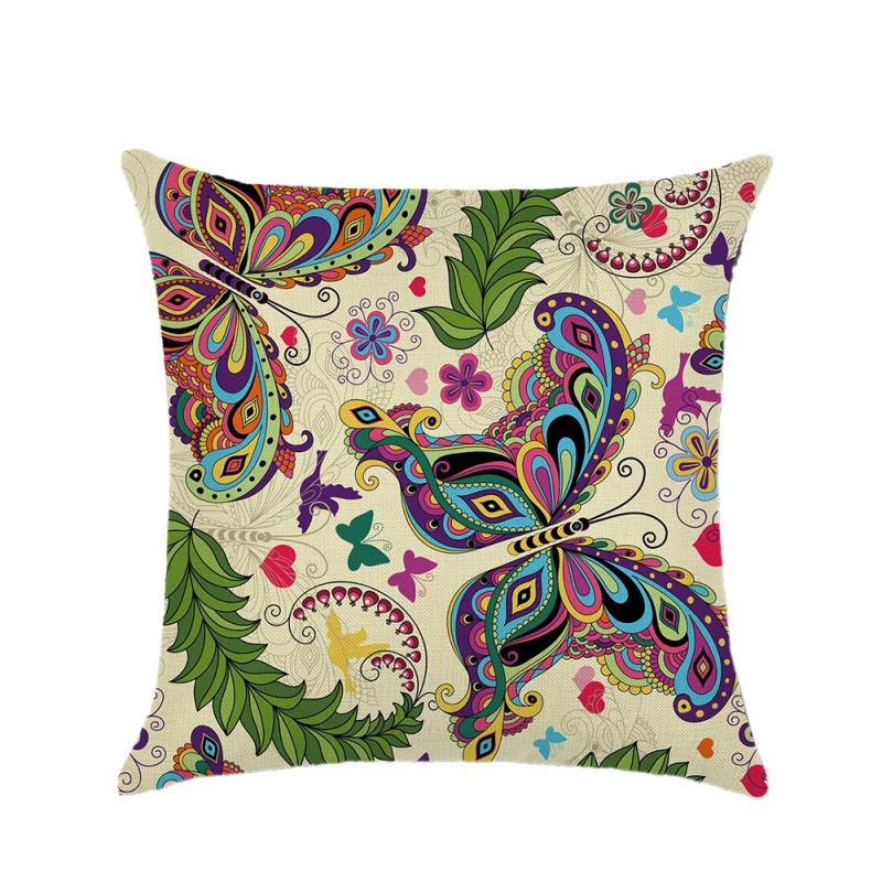 Butterfly Creative Decorative Home Pillow Mattress Covers Pillow  for Home Decorative 2018