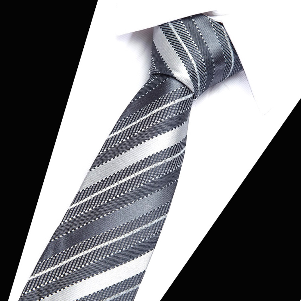 018 New Wide Silk Ties for Men Striped Solid 8 cm Men 39 s Neckties Business Red Wedding Suit Neck Tie Black White Blue Gravatas in Men 39 s Ties amp Handkerchiefs from Apparel Accessories